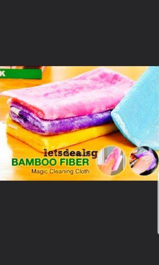 🚚 #JuneHoliday30 ⭐30% OFF⭐ Bamboo Fiber Magic Cleaning Cloth