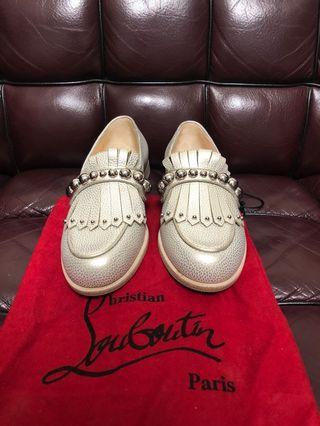 原價$8300 全新女裝Christian Louboutin loafer ladies Sz 37 new