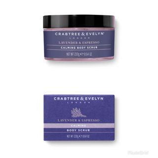 Crabtree & Evelyn - Lavender & Espresso寧神身體磨砂 body scrub