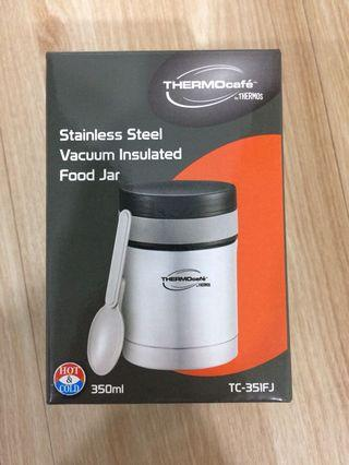 Thermos Thermocafe Series Basic Living Food Jar with Spoon (TC-351FJ)