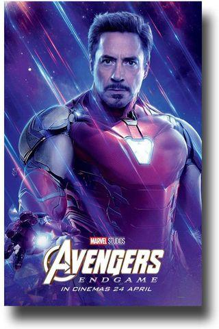 Avengers End Game Iron Man poster