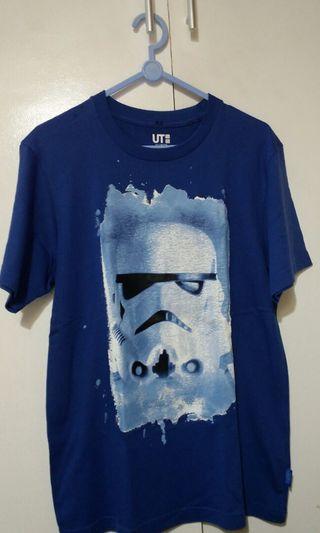 Blue Uniqlo Shirt - Star Wars