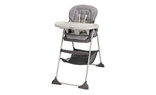🚚 Graco Slim Snacker High Chair, Fast Folding
