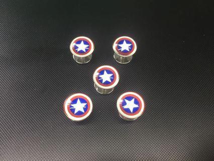 Butang Baju Melayu Captain America