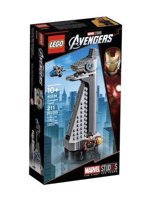 🚚 [BN] The Limited Edition LEGO Avengers Tower (40334)