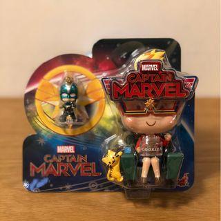 【全新】Hot Toys Cosbaby Movbi & Captain Marvel VIP限定 特別版