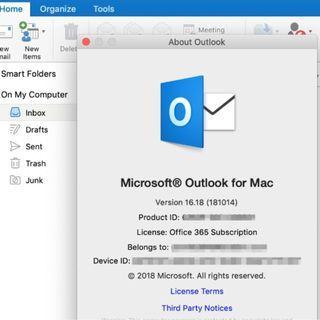 正版 Office 365 for Mac 可永久升級