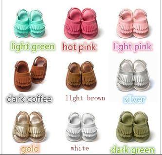 Baby summer sandal