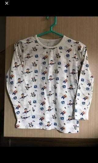 棉質 成套 休閒服 睡衣 長袖