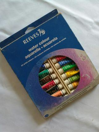 Reeves Watercolor - 24 colours