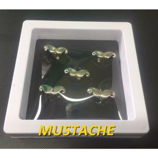Butang Baju Melayu - Mustache