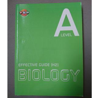 Effective H2 Biology guide