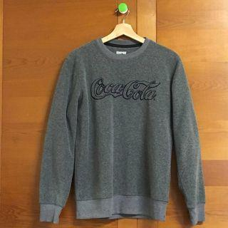 🚚 SPAO x Coca-Cola 聯名 Fleece 長t (M)