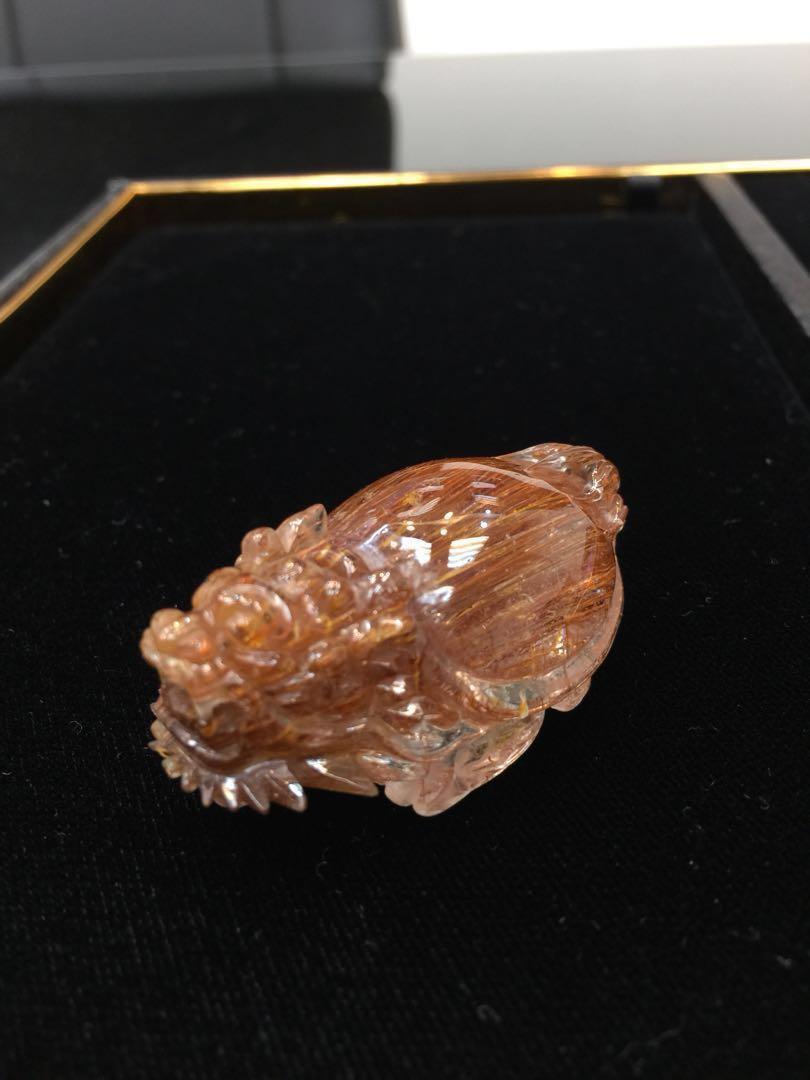 $4200(紅銅鈦)龍龜42.6g