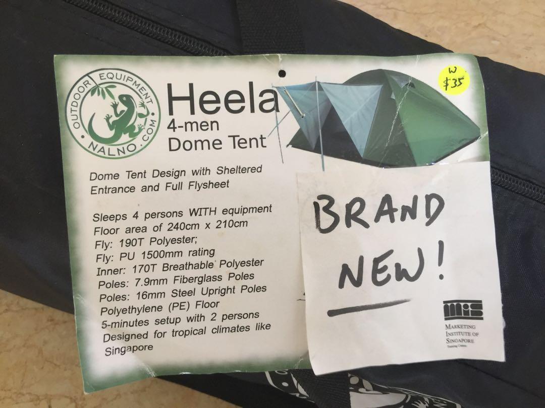 4-Men Dome Tent (NEW)