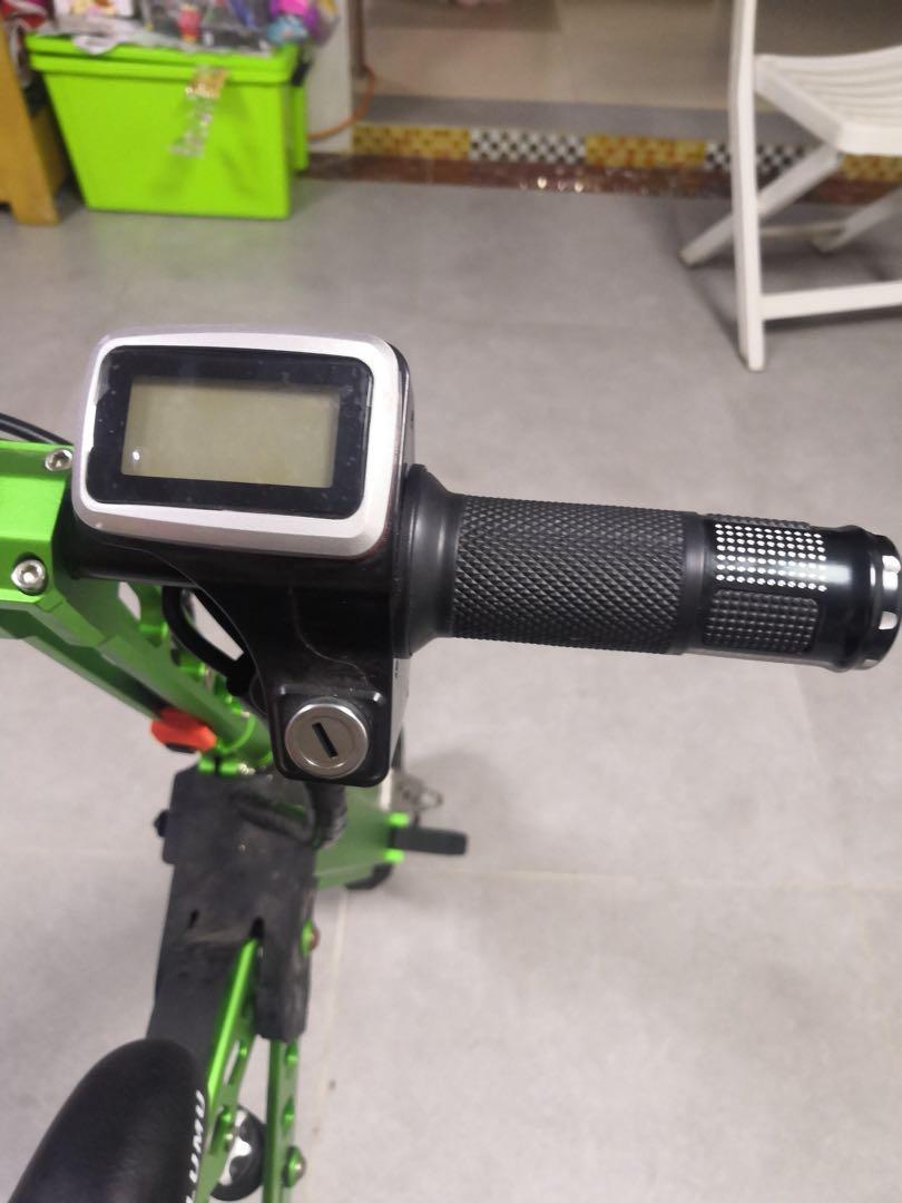 可摺疊電動自行車
