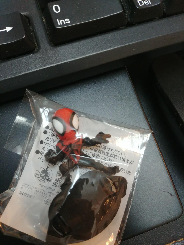 蜘蛛俠公仔一隻未拆膠袋 日本購入