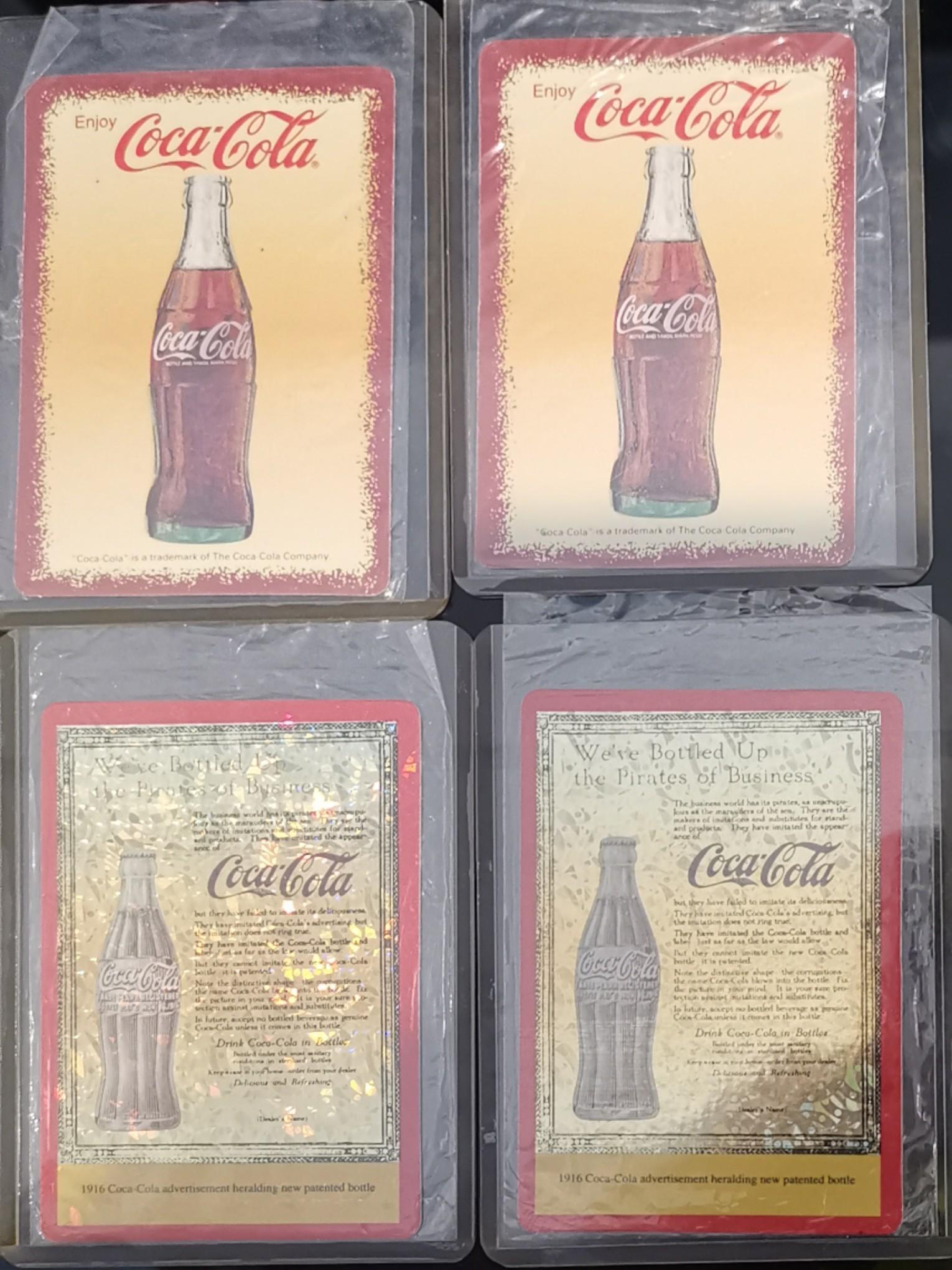可口可樂珍藏閃卡 Coca Cola Collection Card