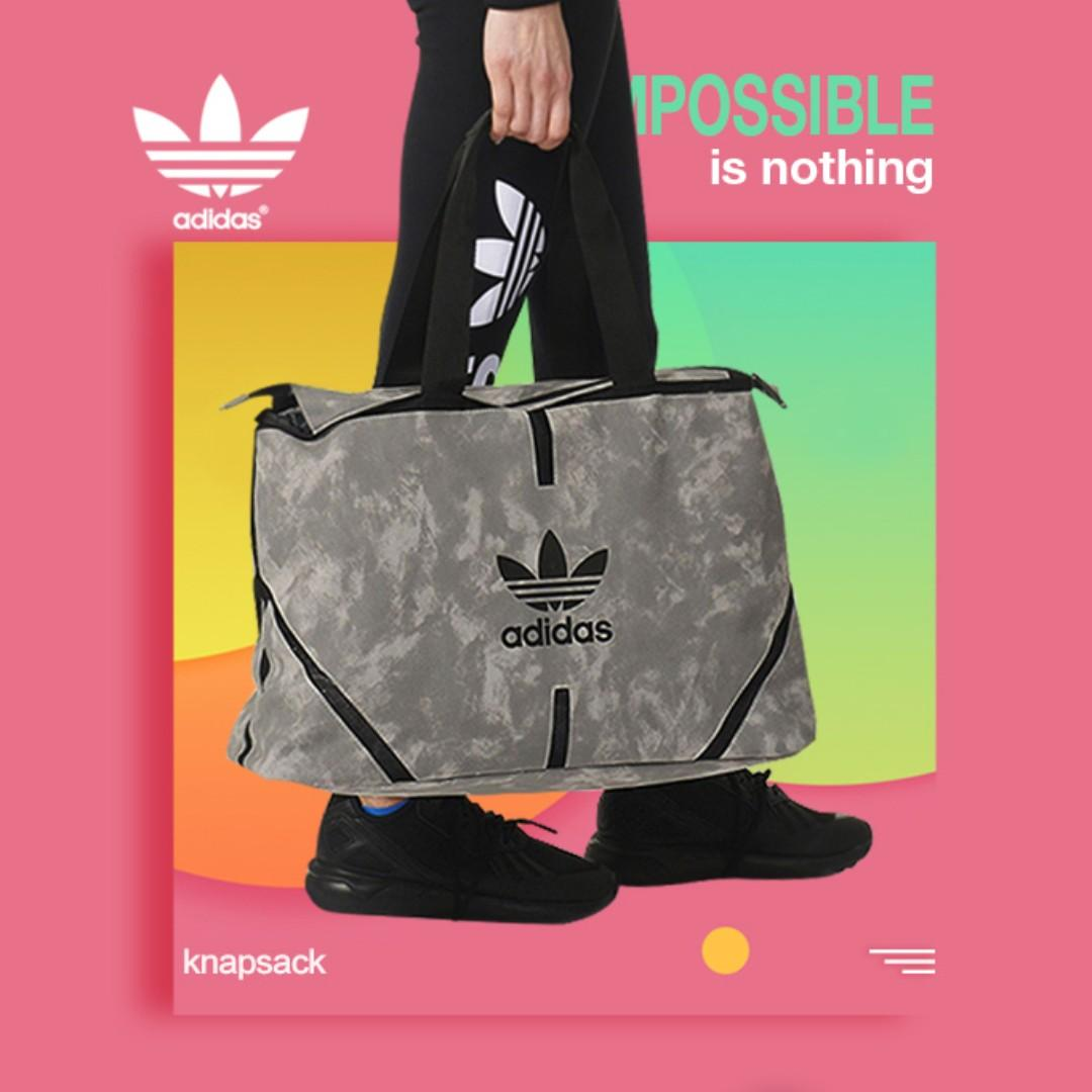 Adidas knapsack Grey Color (April Sales) 14377025