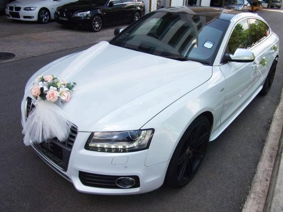 """Affordable """"Audi Wedding Car"""" Rental"""