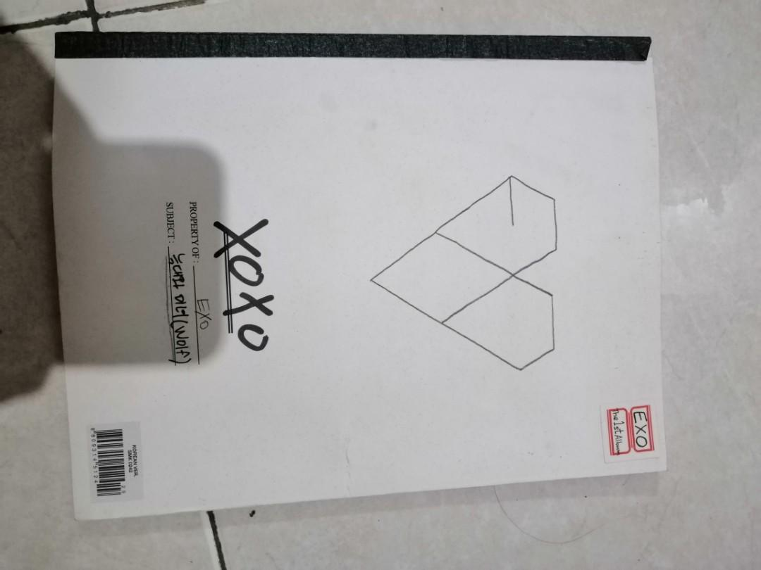 ALBUM EXO XOXO