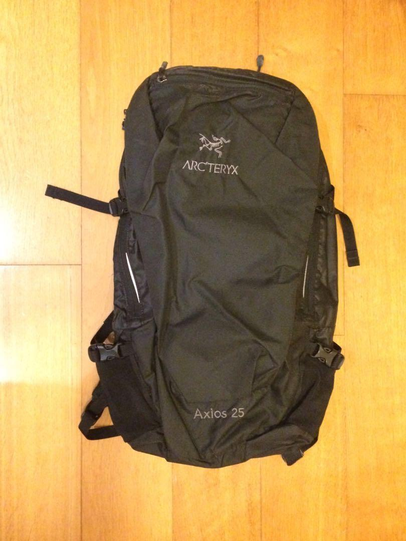 02f024b436 Arcteryx Axios 25 Backpack 背包背囊Arro 22 Brize 25 Black 黑on Carousell