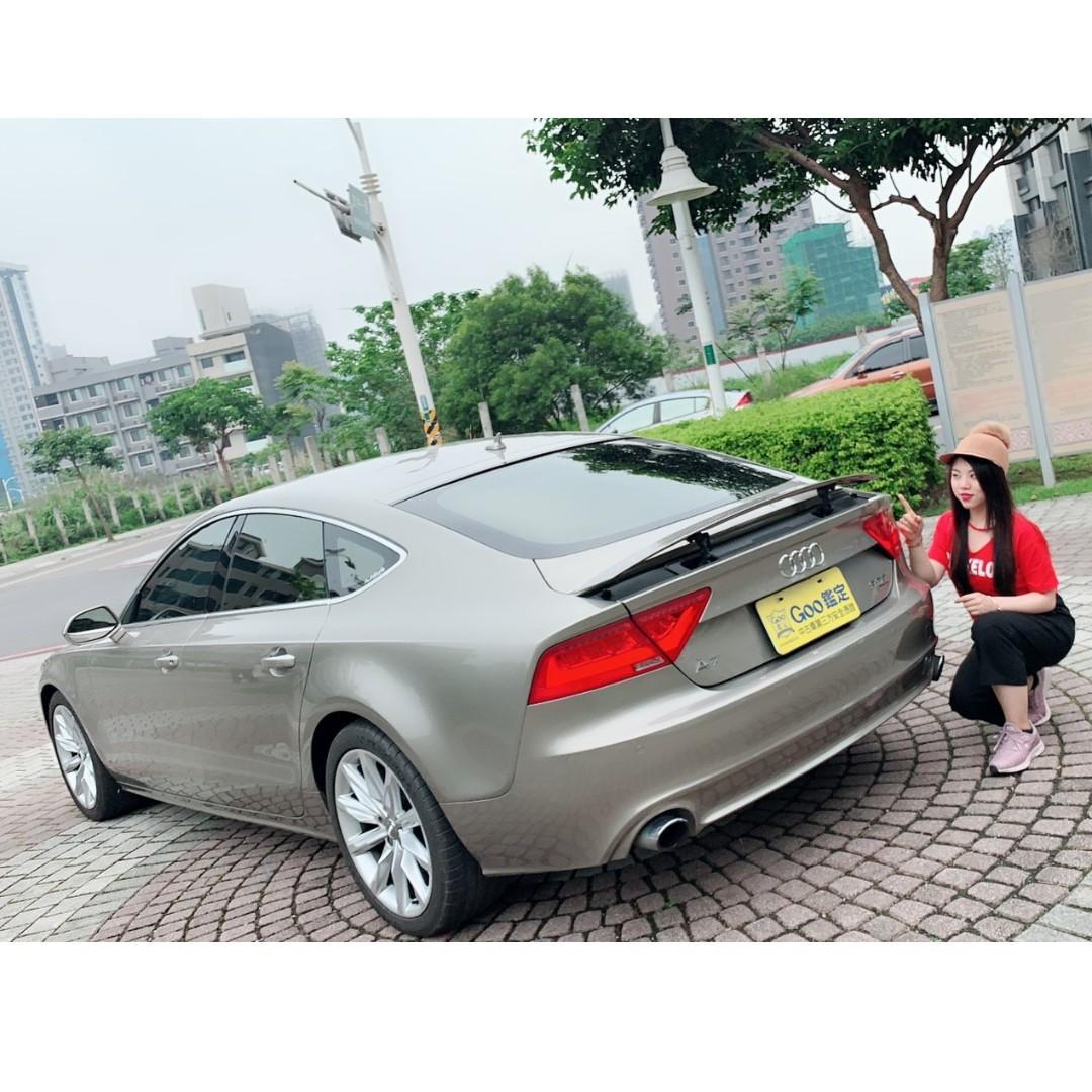 AUDI A7 棕色2012 3.0