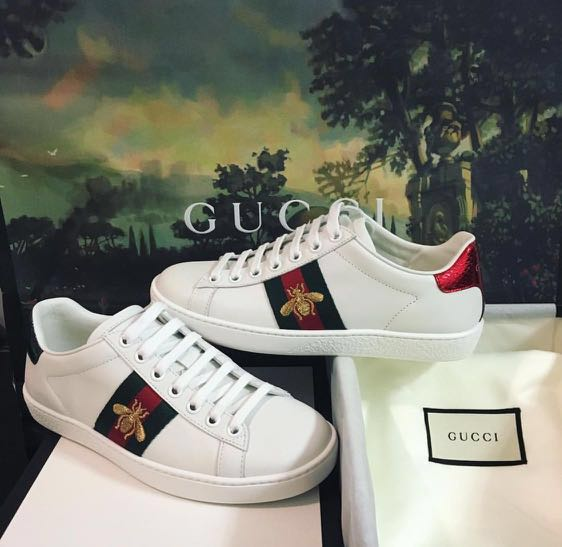 d9abcab7b Authentic Gucci Ace Sneakers Trainers Shoes, Luxury, Shoes on Carousell