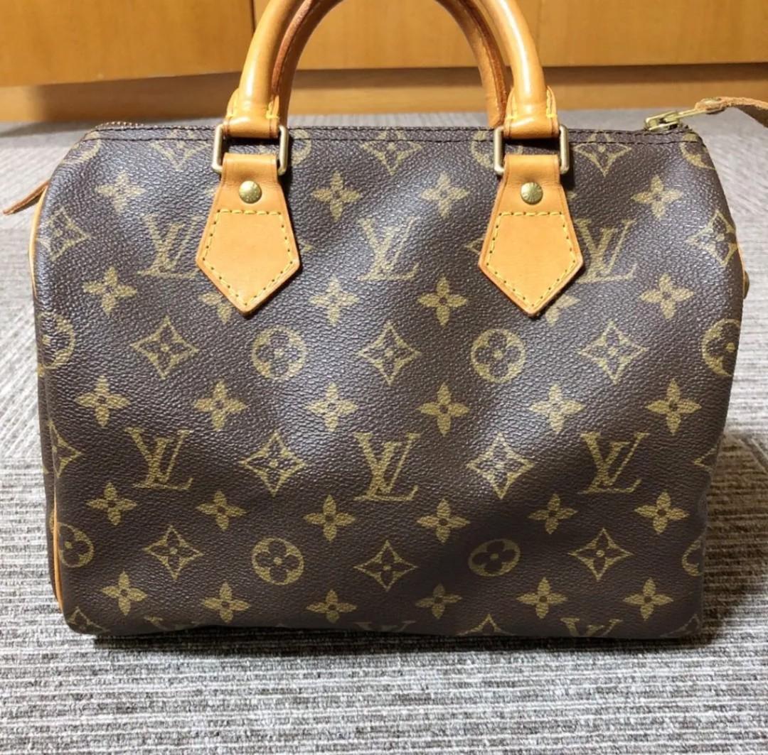 AUTHENTIC Louis Vuitton LV Monogram speedy 25 hand bag