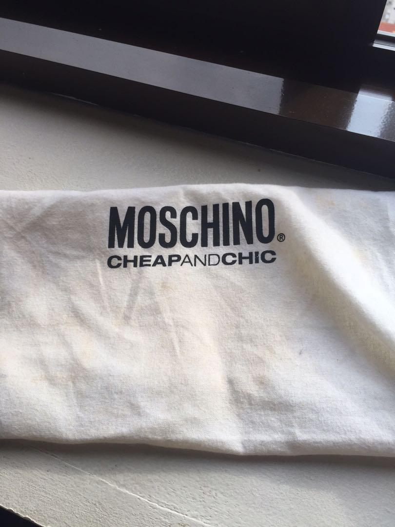 Authentic Moschino Clutch/ Pouch