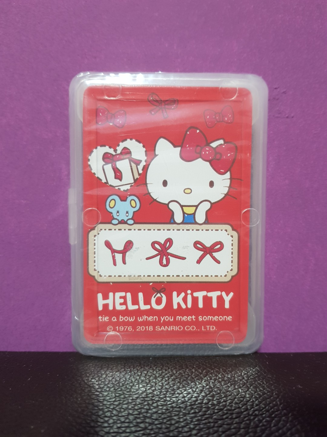 Authentic Sanrio Hello Kitty Playing Cards Poker Cards Toys Games Board Games Cards On Carousell