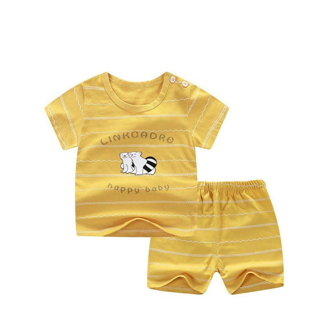 Baju Bayi laki-laki cowo cewe perempuan setelan set lucu murah import