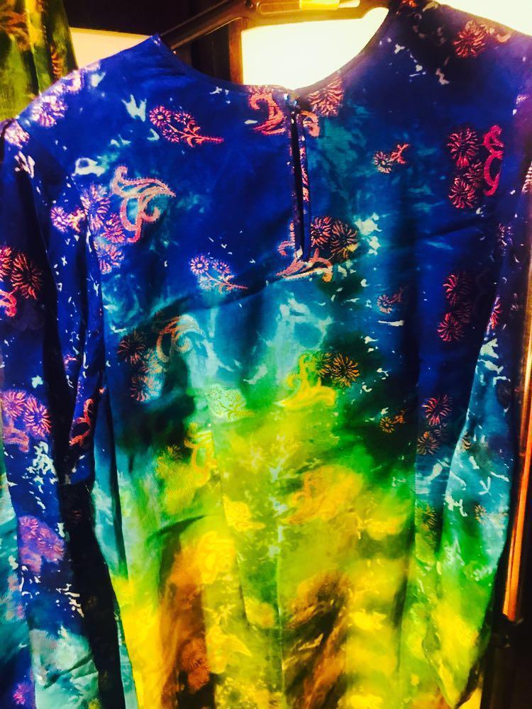 Baju Kurung Italian Silk