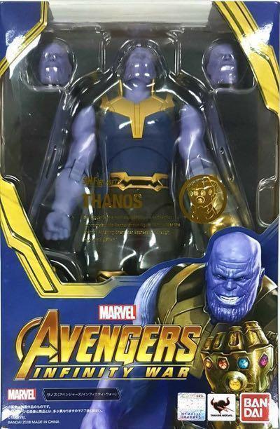 Bandai Shf thonas滅霸 (infinity war無限之戰) avengers 可以用endgame thanos換