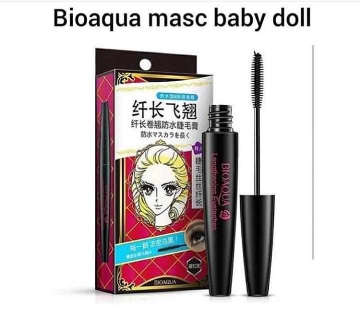 Bioaqua mascara baby doll