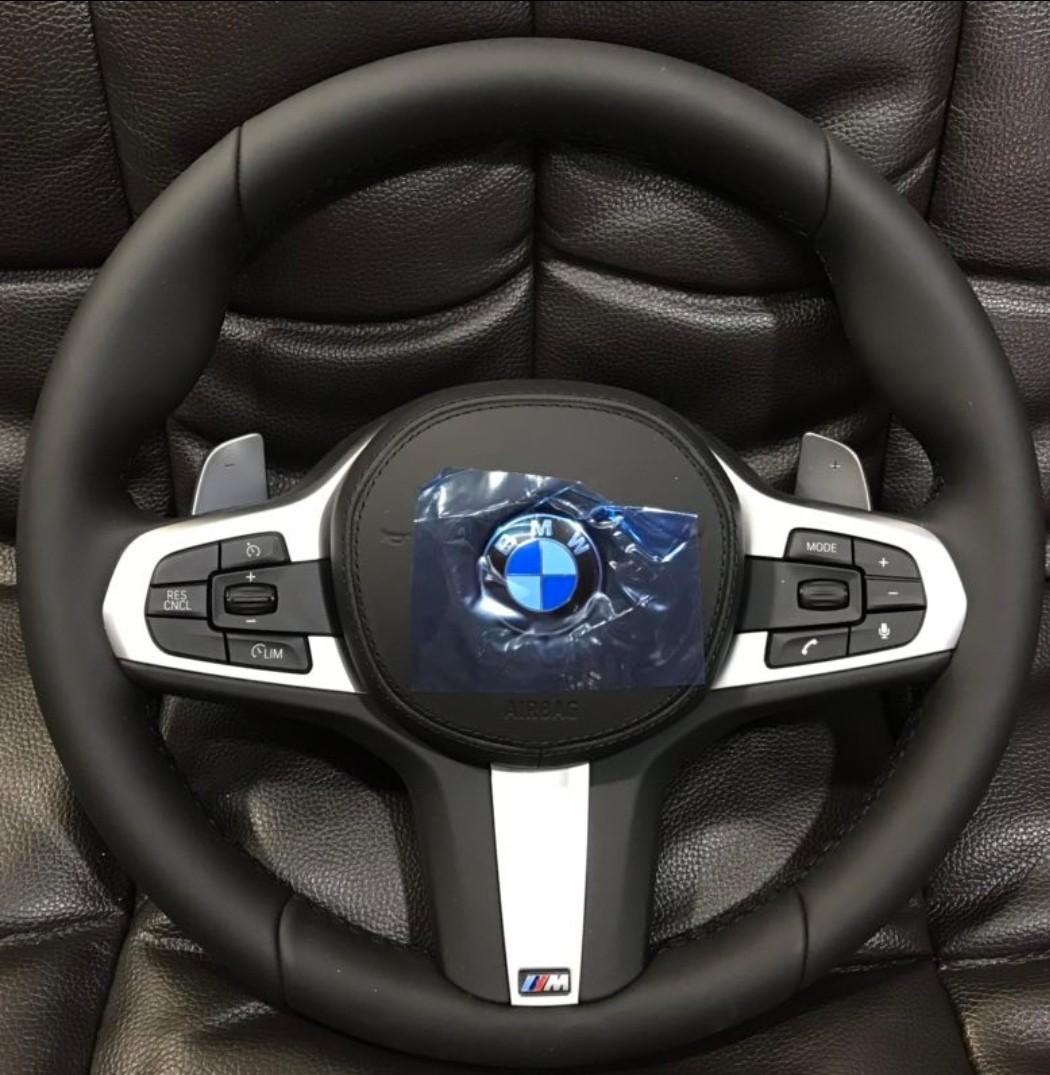 BMW G30 new 5 series and G12 new 7 series M sport steering