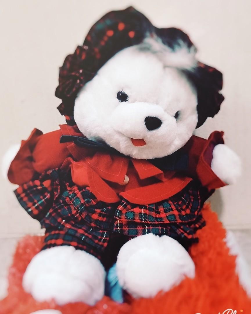 boneka bear baju #maujam