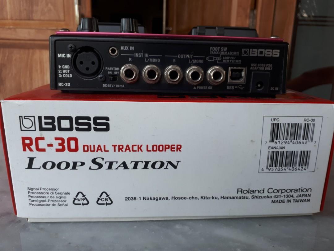 Boss Loop Station RC 30