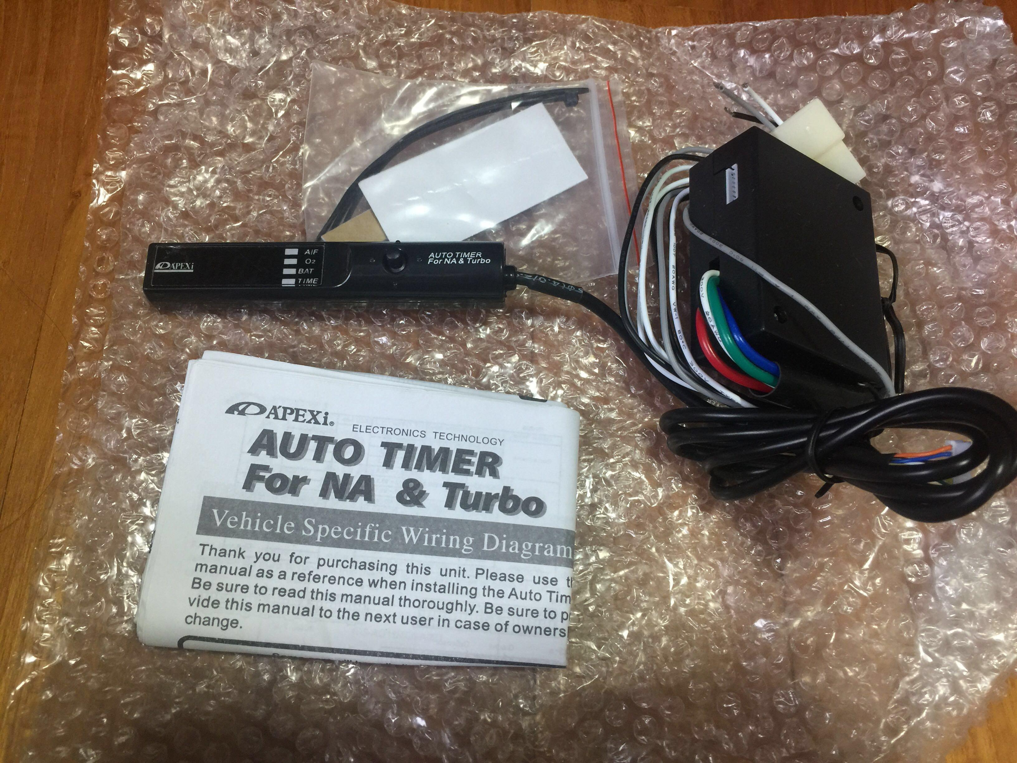 Brand New Apexi Turbo Timer Car Accessories Accessories On Carousell