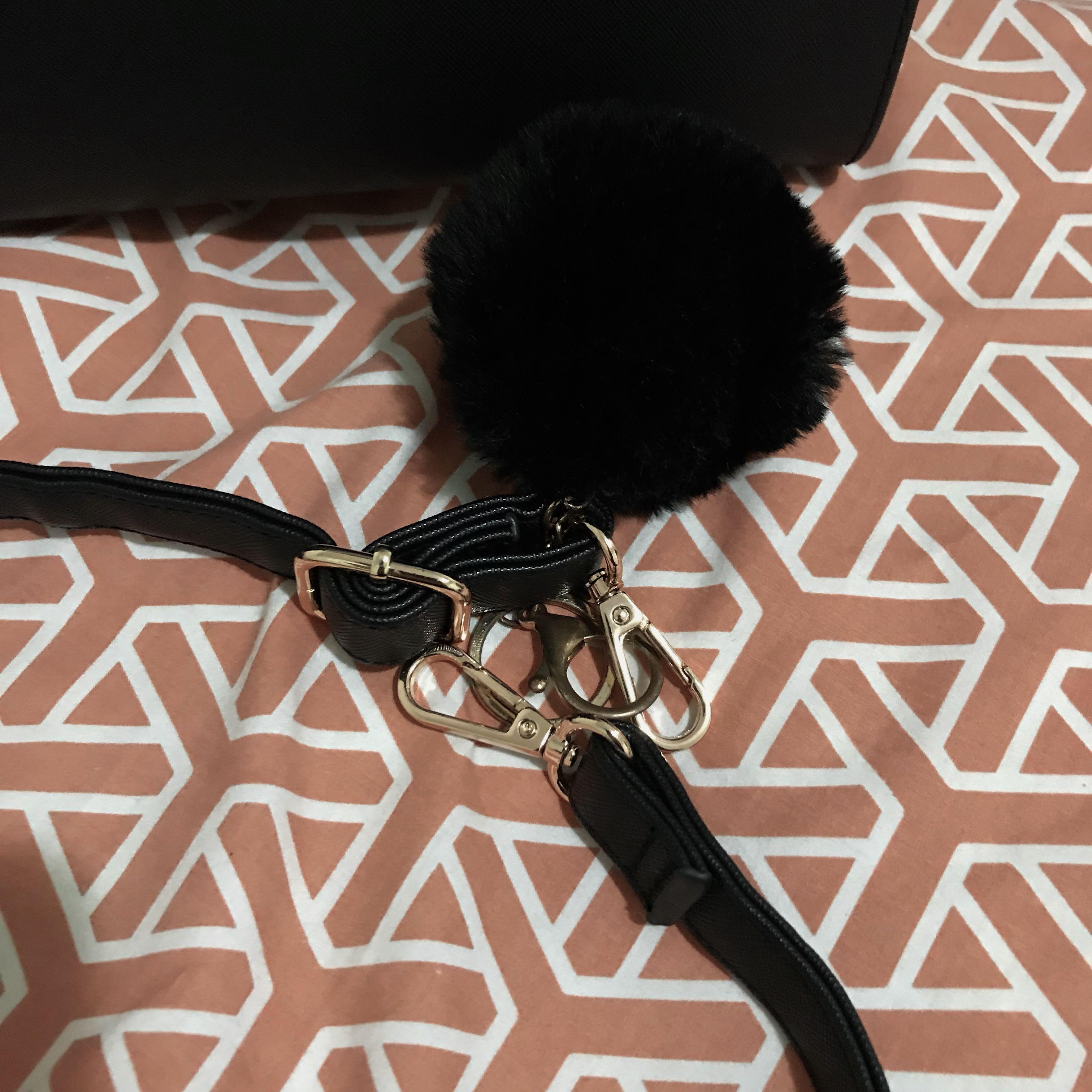 Brand new colette hayman bag with pom pom original price $65