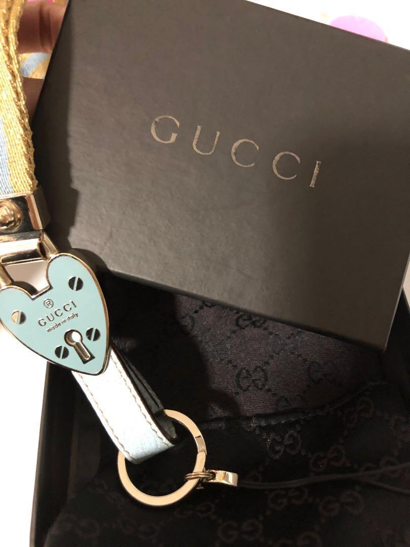 Brand new Gucci keychain holder