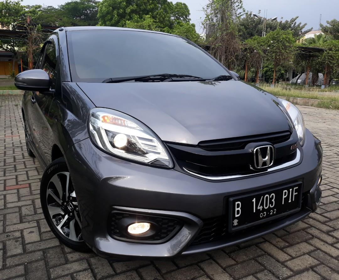 Brio RS AT 2017 Full Original Pajak Panjang VERY GOOD CONDITION