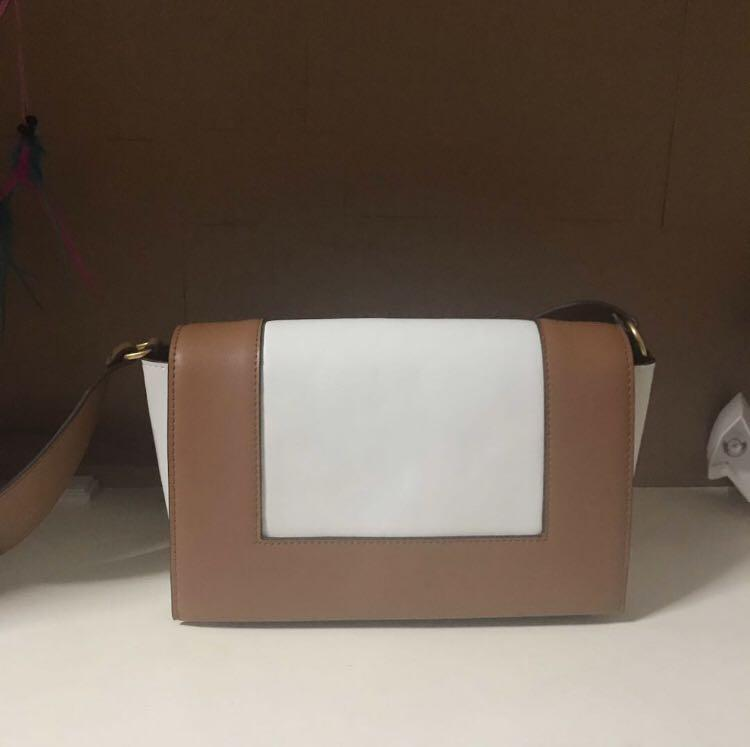 Brown Frame Bag