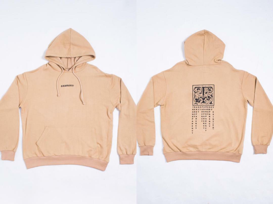Brown hoodie Oversized