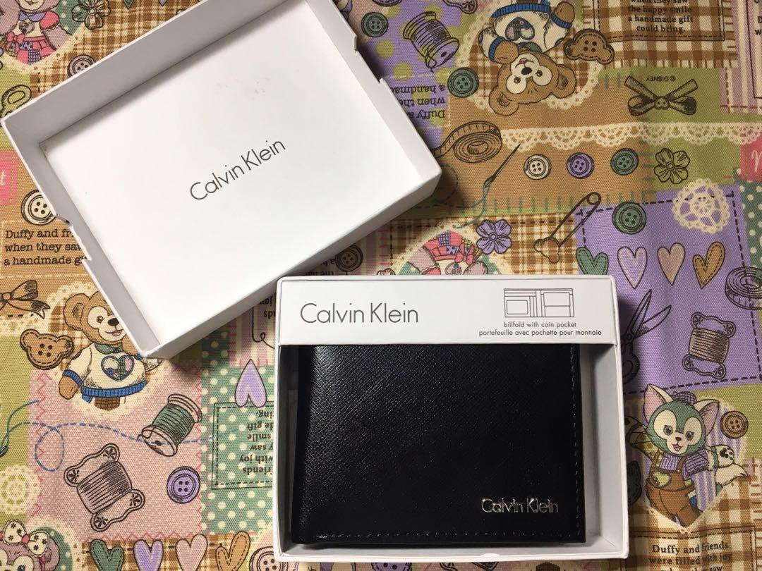 Calvin Klein 男士皮夾