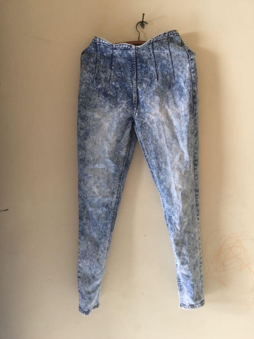 Celana Jeans highwaist