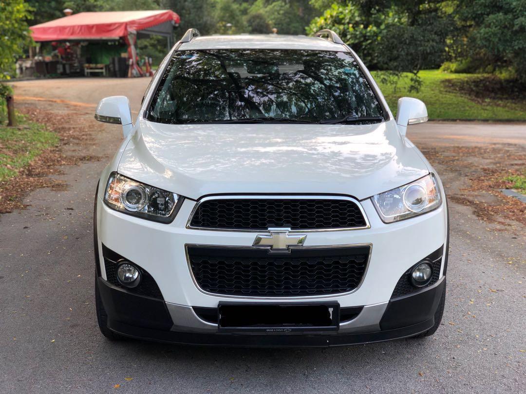 Chevrolet Captiva 2.4 Standard AWD Auto
