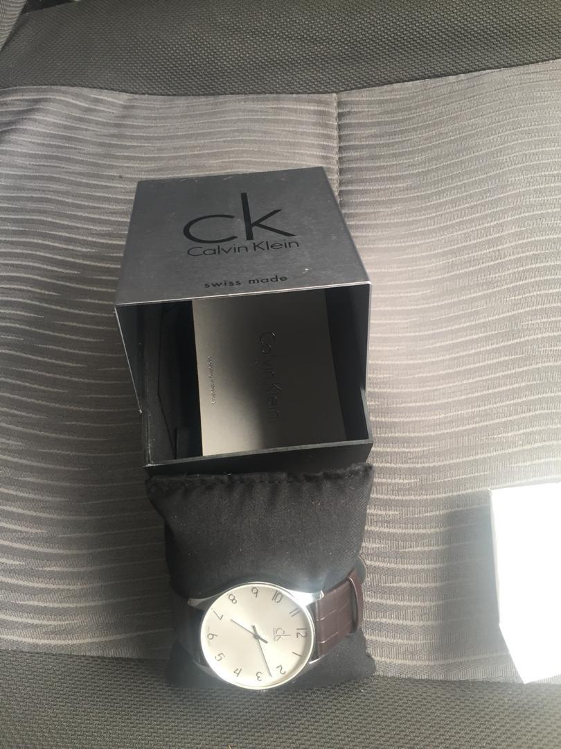 CK swiss made women watch