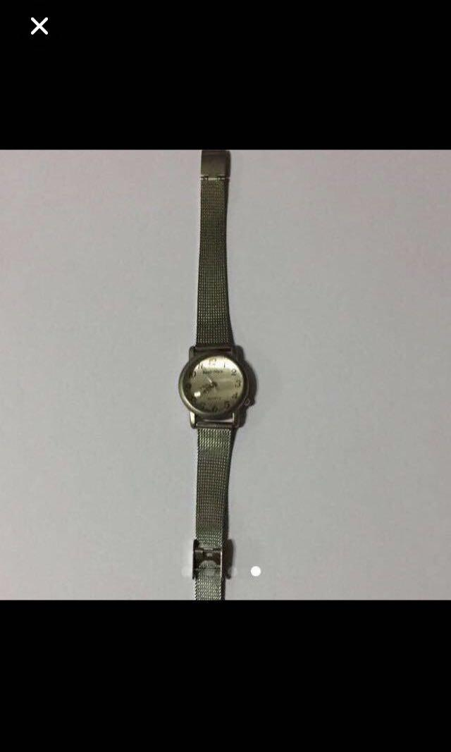 CLEARANCE SALES {Women's Fashion - Vintage Watch} Pre-owned Real-Nice Brand Vintage Ladies Quartz Watch With Mesh Stainless Steel Strap