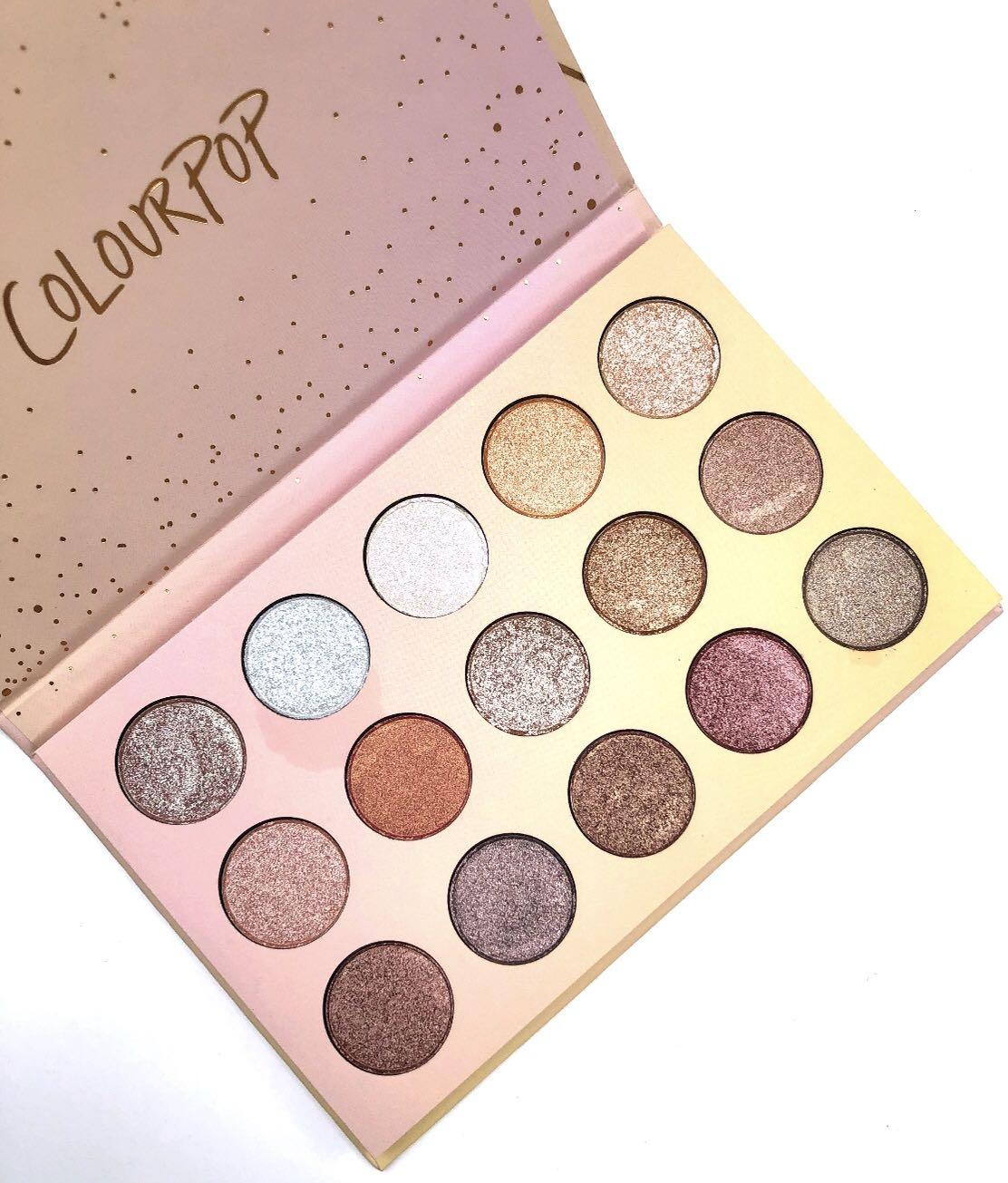 ColourPop Golden State Of Mind - Shadow Palette ❤️ AUTHENTIC ❤️ Imperfect